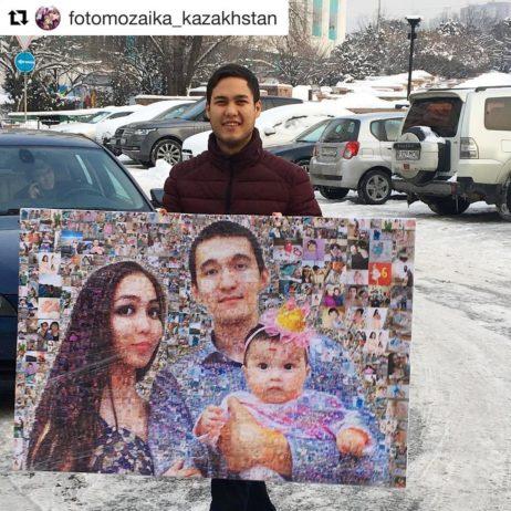 Фотомазаика Алматы