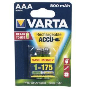 Аккумуляторы Varta Rechargeable Accu AA 2400 mAh