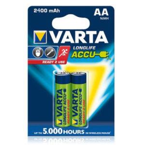 Аккумулятор Varta Long Life AA 2400 mah
