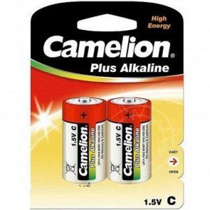 Батарейка CAMELION C LR14, LR14-BP2, Plus Alkaline, 1.5V