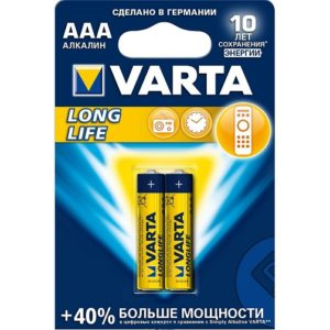 Батарейка Varta LONGLIFE AAA желтая