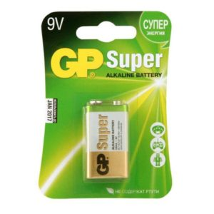 Батарейка алкалиновая крона GP