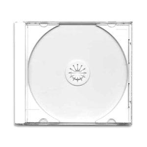 Бокс для дисков 1CD Slim Case прозрачный