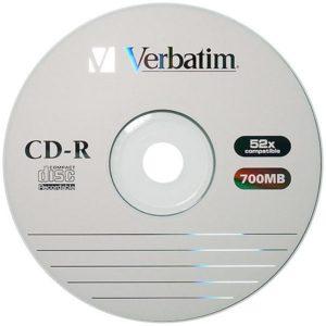 Диски Verbatim CD-R SP-025