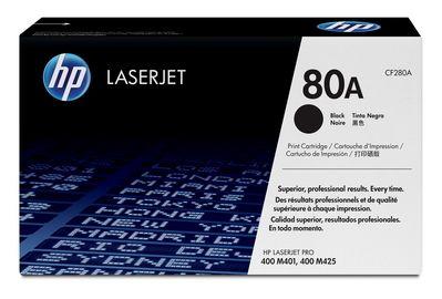 Картридж HP CF280A (HP 280A) черный для принтеров HP LaserJet Pro