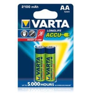 Аккумулятор Varta Long Life AA 2100mAh
