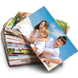Печать фотографий поштучно